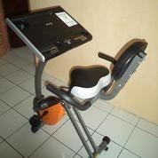 Alat Fitness Sepeda Statis X Bike Magnetik Laptop