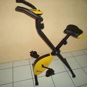 Alat Fitness Sepeda Statis Magnetik Lipat X Bike