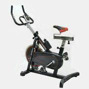 Alat Fitness Sepeda Statis Spinning Bike