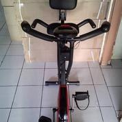 Alat Fitness Sepeda Statis X Bike Sandaran Hand Pulse