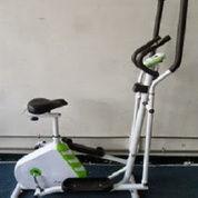 Alat Fitness Elliptical Bike 2 In 1 Multifungsi