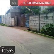 Gudang JL. KH. Hasyim Ashari , Tangerang, 20x80m, 1 Lt, SHM (12031763) di Kota Tangerang