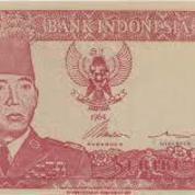 Uang Sukarno Pecahan 1000 Thn 1964 Langka