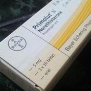 Primolut N - Norethisterone 5 Mg - Progesteron Oral - Penunda Haid (12054567) di Kota Surabaya