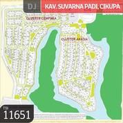 Kavling Suvarna Padi, Cluster Akasia 1, Cikupa, Tangerang 16x43.94, 703 M (12208263) di Kab. Tangerang