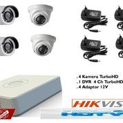 CCTV 4ch Hikvision