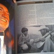 Buku Vintage 1993 Biografi & Edisi Photo Artis Legend Musik Country Dunia Super Komplit