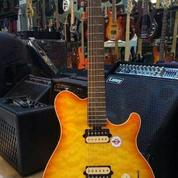 Sterling By Music Man AX30D-CRB Candy Red Burst Electric Guitar (12319457) di Kab. Nias Barat