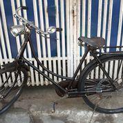 Sepeda Onthel Raleigh Sim King Dames