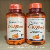 Puritans Pride Vitamin C 1000 Mg With Bioflavonoids And Rose Hips (12354197) di Kota Jakarta Barat
