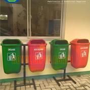 Laris Tong Sampah Fiber Oval Gandeng (12378693) di Kota Bekasi