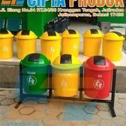 Toko Tong Sampah Fiber Bak Sampah Bulat (12388923) di Kota Bekasi