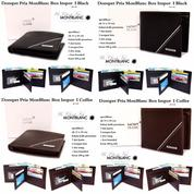 Dompet Pria MonBlanc Box Impor Best Seller I (12396013) di Kota Jakarta Timur