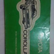 Manual Book / Buku Panduan Corolla DX 80/81 Original