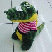 Boneka Hewan / Binatang Buas Buaya Duduk / Crocodile Sit With Striple SNI Ukuran M Kurleb 31 Cm Lucu (12446051) di Kota Jakarta Selatan
