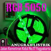 [ANUGRAH LISTRIK] LED STRIP RGB 5050 (Free Remote & Adaptor)