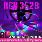 [ANUGRAH LISTRIK] LED STRIP RGB 3528 (Free Remote & Adaptor)