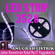 [ANUGRAH LISTRIK] LED STRIP 3528 Fleksible, Waterproof, DC12V, 5 Meter (Mata Kecil)