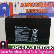[ANUGRAH LISTRIK] Baterai AKI 12 Volt Panasonic. Baterai Aki Kering Panasonic Murah Meriah.