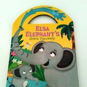 Buku Anak Elsa Elephant's Grand Discovery Boardbook