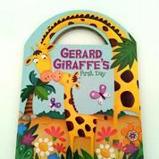 Buku Cerita Gerrard Giraffe's First Day Boardbook Anak Impor