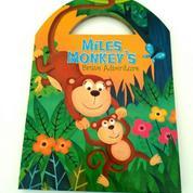 Buku Miles Monkey's Brave Adventure Boardbook Anak Impor