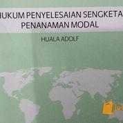 Hukum Penyelesaian Sengketa Penanaman Modal (1267482) di Kota Bandung