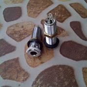 Jack Flush Mount Tabung Output Jek Female Contra Jak Flushmount Switchcraft Colokan Input Bass Gitar (12682547) di Kota Bekasi