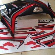Striping Lis Stiker Ninja 250 FI SE 2015 Merah Hitam