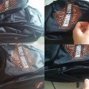 Tas Punggung Backpack Harley Orange Logo (12798115) di Kota Bogor