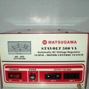 Stavolt MATSUGAWA 500VA Automatic AC Voltage Regulator Servo Motor 500 (12808651) di Kota Semarang