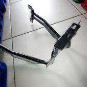 Braket Plat Nomor + Dudukan Lampu Yamaha Aerox 155