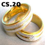 Cincin Perak Sepuh Kuning CS.20