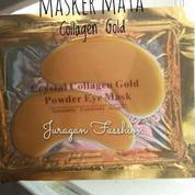 Masker Mata 24K Gold 2 Pasang