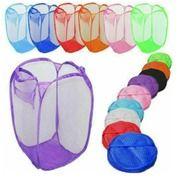Kantong Keranjang Baju Lipat Tempat Pakaian Kotor Portable Laundry Bag