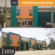 Gudang Pergudangan Bandara Benda Permai, Dadap, Tangerang, 15x28, 2 Lt, SHM (13013379) di Kota Tangerang