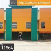 Gudang Pergudangan Bandara Benda Permai, Dadap, Tangerang, 30x40, 2 Lt, SHM (13046247) di Kota Tangerang