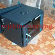"Indorack - 19""Wallmount Rack 8u Depth 550mm 2 Pintu Sangat Gress Banget (13070097) di Kota Surabaya"