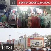 Kios Gandeng Sentra Grosir Cikarang, Lt 1, 2x2, SHM (13091897) di Kab. Bekasi