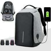 Tas Ransel Laptop Backpack Anti Maling Anti Air Anti Theft