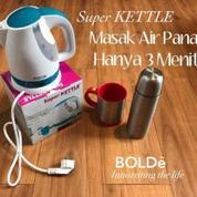 Teko Listrik BOLDe Super Kattle Pembuat Air Panas Di Rumah Mudah Di Gunakan