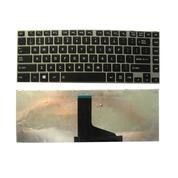 Keyboard Toshiba Satellite C800 L845 DOFF BLACK (FRAME) (13120365) di Kota Surabaya