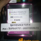 BATERAI LENOVO A6000 DOUBLE IC DOUBLE POWER 4000mah