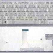 Keyboard Toshiba Satellite C40-A C45-A L45-A - WHITE (13125447) di Kota Surabaya