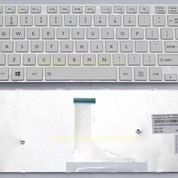 Keyboard Toshiba Satellite C40-A C45-A L40-A L45-A - WHITE (13136027) di Kota Surabaya