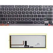 Keyboard Toshiba Portege R630 R705 U900 Z830 Black - Backlite (13138863) di Kota Surabaya