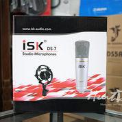 Mic Condenser Recording Isk DS-7 Plus Shockmount Murah Di Bandung
