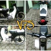 Yamaha V75 Motor Jadul