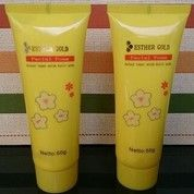 Sabun Facial Foam Esther Gold Original
