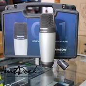 Microphone Condenser Recording Samson C 01 Murah Di Bandung